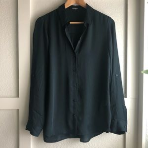 Black Forest Green Express City Shirt Blouse.